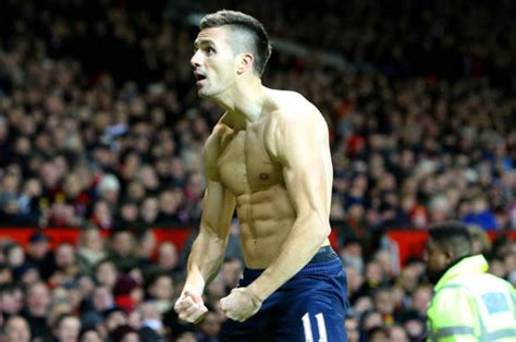 Dusan Tadic offered modelling deal after topless goal ...