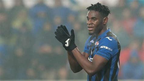 Duvan Zapata marca el primer gol en Champions en la ...