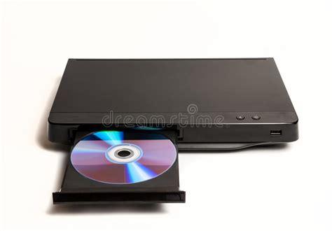 DVD/lector De Cd Con La Bandeja Abierta Aislada Foto de ...