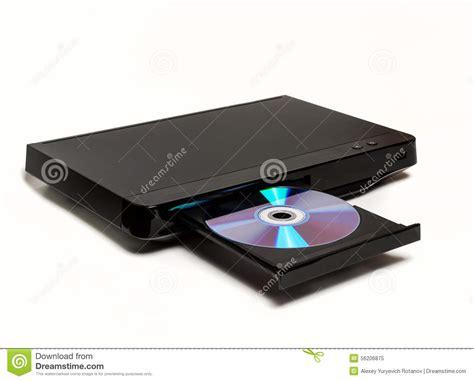 DVD/lector De Cd Con La Bandeja Abierta Aislada Imagen de ...
