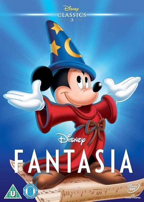 Dvd Pelicula Fantasia   Mickey Mouse Disney Pixar ...