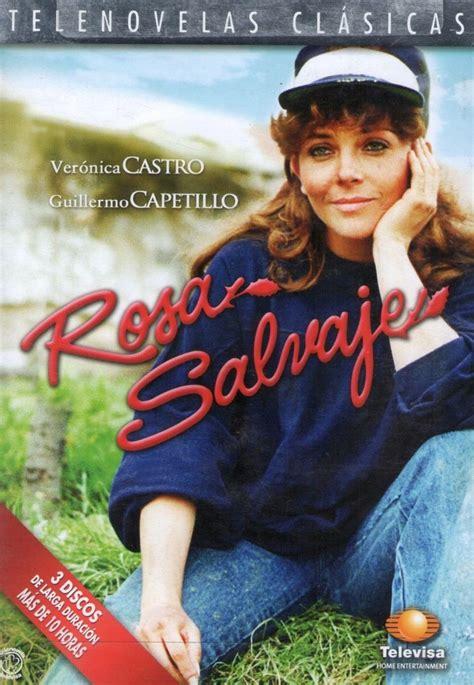 Dvd Veronica Castro Telenovela Rosa Salvaje 2007   $ 200 ...