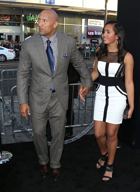 Dwayne Johnson and His Daughter Simone s Cutest Pictures ...
