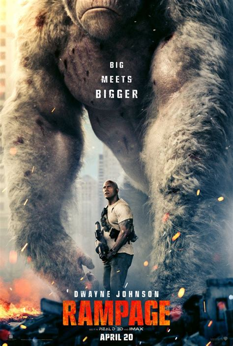 Dwayne Johnson Dealing With Big Giants In Rampage Movie ...