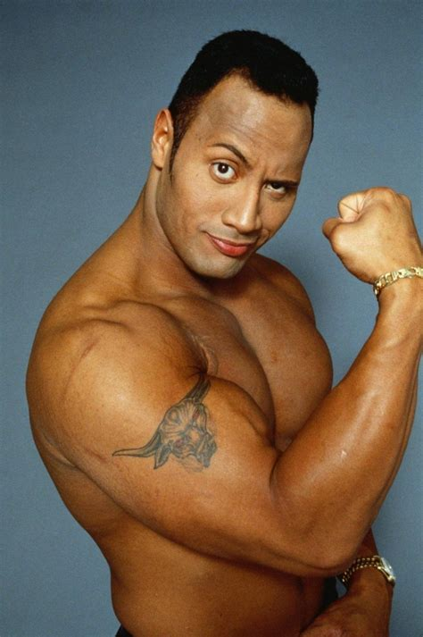 Dwayne Johnson Height and Weight Measurements