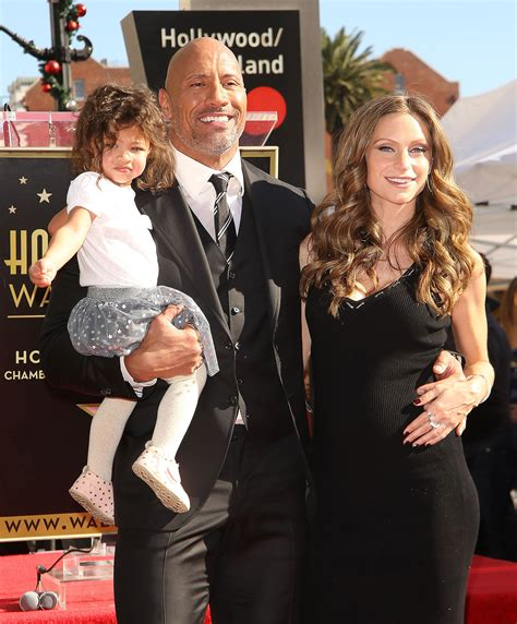 Dwayne Johnson s Daughter Adorably Outshines Him at Star ...