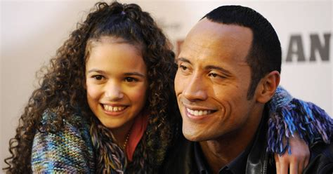 Dwayne Johnson s Daughter From  The Game Plan  Is All ...