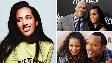 Dwayne Johnson s Daughter Simone Alexandra Johnson ...