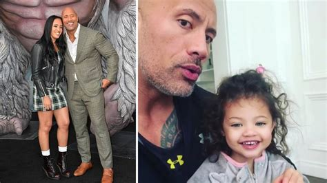Dwayne Johnson s Daughters   2018 {Simone Alexandra ...