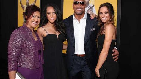 Dwayne Johnson, um homem de família