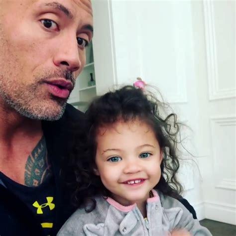 Dwayne Johnson's Daughter Hilariously Tells Him She Likes ...