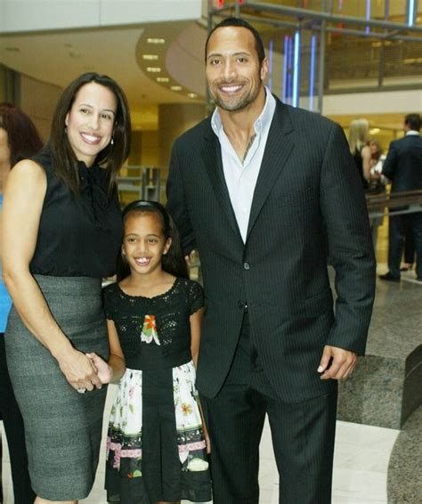 DWAYNE THE ROCK JOHNSON AND FAMILY ATTEND AWARD CEREMONY ...