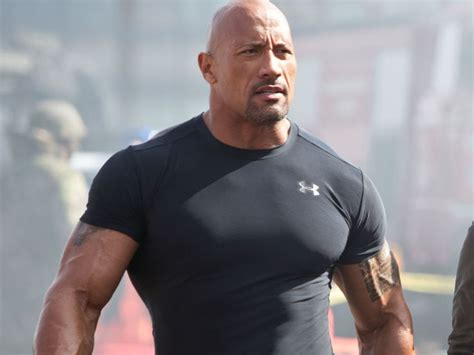 Dwayne  The Rock  Johnson es el actor mejor pago de ...