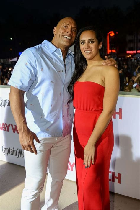 Dwayne  The Rock  Johnson reveals his daughter plans to ...