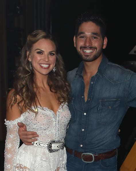 DWTS : Alan Bersten Is Trying To Help Hannah Brown Get ...
