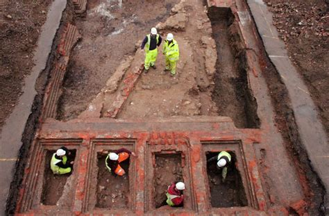 Early Twelfth Century Castle Walls Unearthed Outside ...
