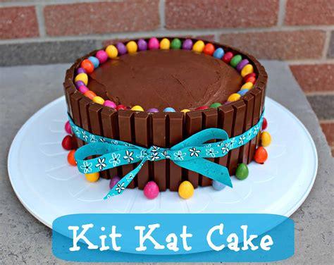 Easy Birthday Cake Ideas – Kit Kat Cake Recipe   Little ...
