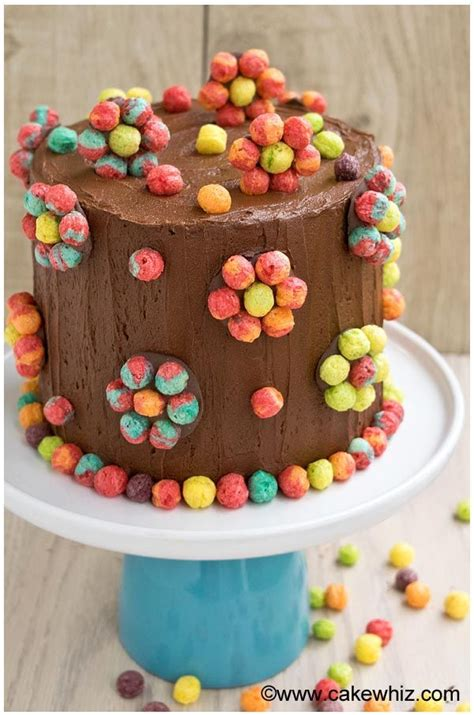 easy cake decorating ideas for beginners edible cereal ...