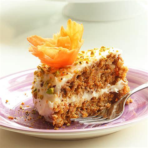 Easy Carrot Cake with Orange Mascarpone Cream   The Petite ...
