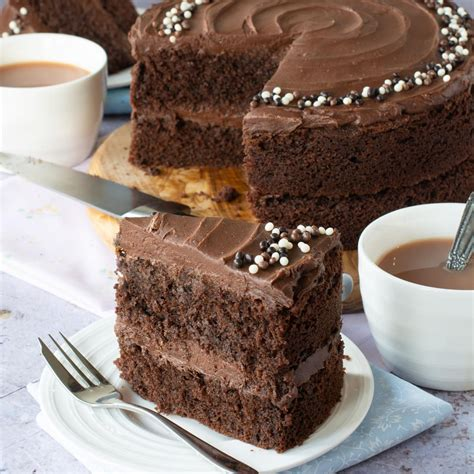 Easy Chocolate Cake | Charlotte s Lively Kitchen