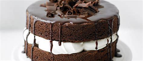 Easy Chocolate Sponge Cake Recipe   olivemagazine