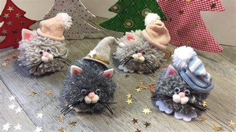 Easy DIY for Christmas TUTORIAL FACILISSIMO con ponpom per ...