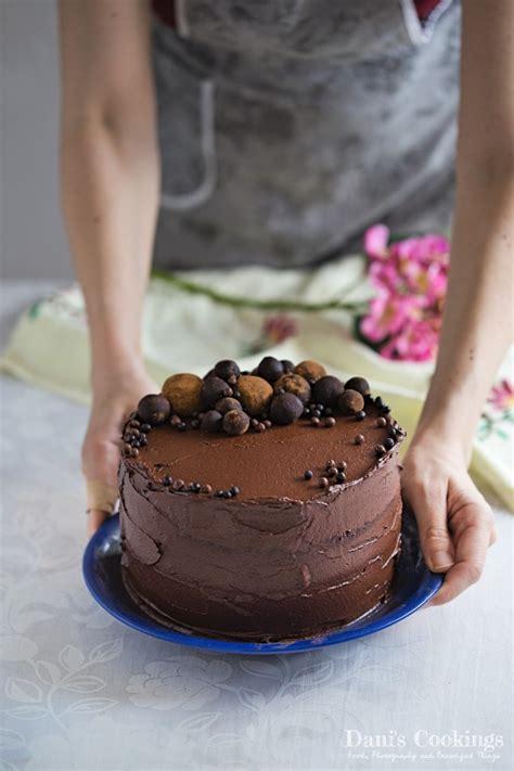 Easy Homemade Chocolate Cake | Dani s Cookings