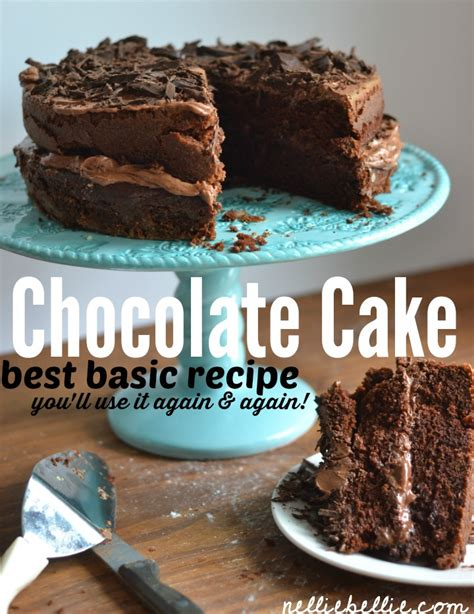 Easy, homemade chocolate cake recipe and the best ...