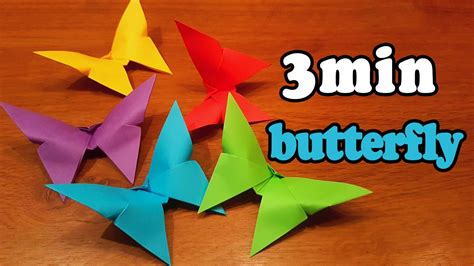Easy origami butterfly folding instructions Michael G ...
