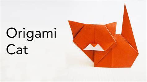 Easy Origami Cat Tutorial   Designed by Keiji Kitamura ...