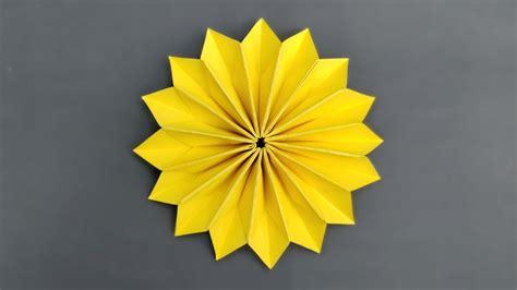 Easy Origami Flower   Paper Flowers   YouTube