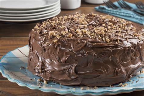 Easy Perfect Chocolate Cake   MrFood.com