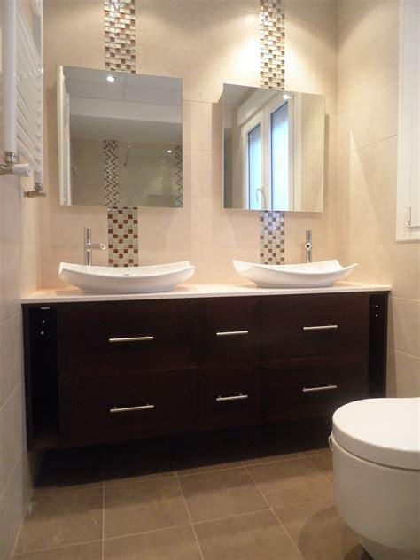EBANISTA   CARPINTERO: Mueble bajo lavabos colgado