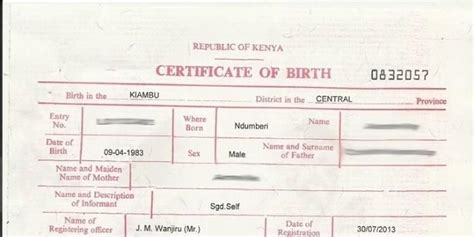 eCitizen: How to Apply for Birth Certificate Online During ...