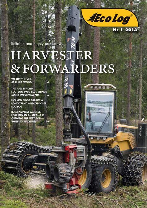 Eco Log magazine no. 1 2013 by Eco Log Forestry   Issuu