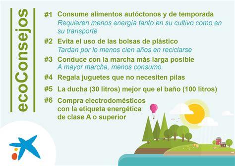 ecoCaixa, consejos y productos para el cuidado del medio ...