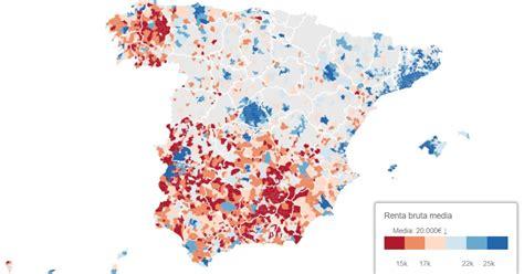 Economía eres tú: De Zahínos a Pozuelo: el mapa de la ...