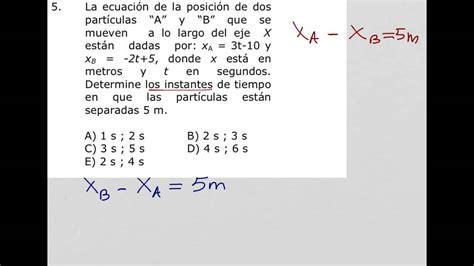 Ecuación de posición, MRU   YouTube