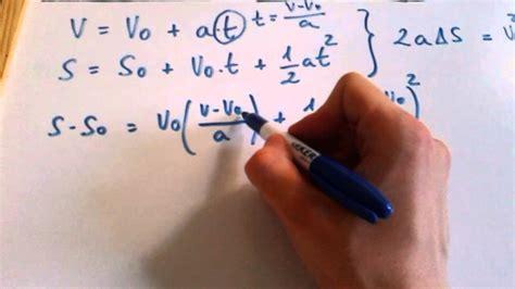 Ecuaciones m.r.u.a.   YouTube