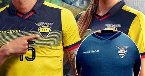 Ecuador 2019 Copa America Home & Away Kits Revealed ...
