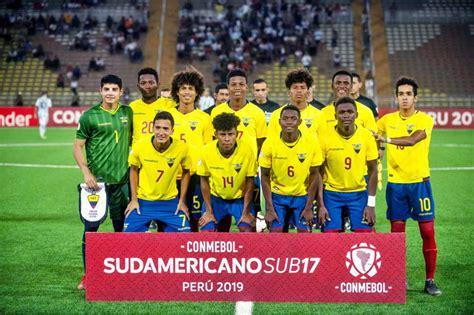 Ecuador 4 1 Argentina   Hexagonal   Sudamericano Sub 17 ...