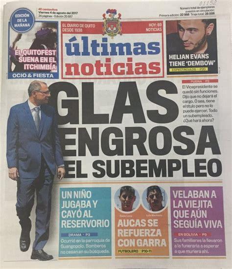 Ecuador con un vicepresidente sin funciones – Diálogo Político