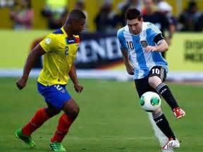 Ecuador vs Argentina En Vivo y Directo Eliminatorias Copa ...