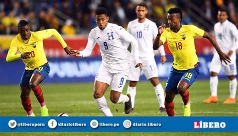 Ecuador vs Honduras EN VIVO EN DIRECTO ONLINE, guía de ...