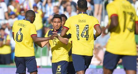 Ecuador vs. Trinidad y Tobago EN VIVO ONLINE: amistoso ...