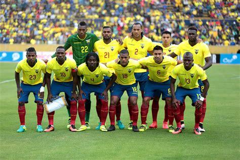 Ecuador ya tiene cuatro partidos amistosos confirmados ...