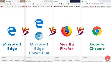 Edge vs Edge Chromium vs Firefox vs Chrome. ¿Cuál es el ...