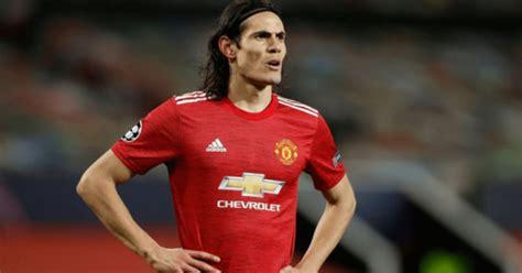 Edinson Cavani en Instagram: Jugador del Manchester United ...