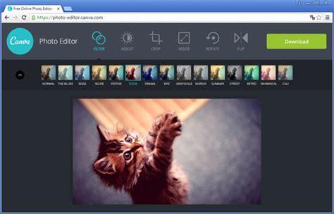Edite fotos online com o Canva Photo Editor