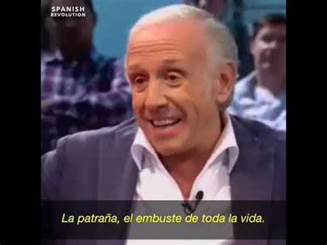 Eduardo Inda, seudo periodista español, se confiesa.   YouTube